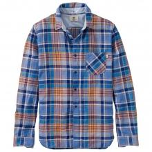 Timberland Men's Mystic River Linen Plaid LS Shirt by Timberland