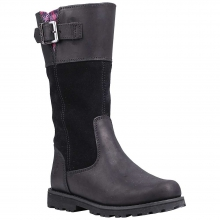 Junior Earthkeepers Asphalt Trail Maplebrook Girls' Tall Boot by Timberland