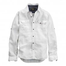 Men's Earthkeepers Long Sleeve Linen Cargo Shirt by Timberland