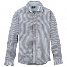 Men's Earthkeepers Long Sleeve Stripe Linen Shirt by Timberland