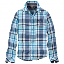 Men's Earthkeepers Long Sleeve Plaid Linen Shirt by Timberland