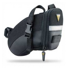 Small Aero Wedge Seat Bag (Saddle Bag) with Velcro by Topeak