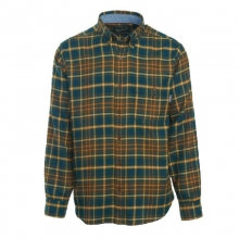 Men's Trout Run Plaid Flannel Shirt by Woolrich