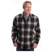 Men's Bering Wool Plaid Shirt by Woolrich