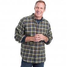 Men's Trout Run Flannel Shirt by Woolrich