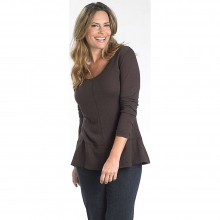 Women's Callowhill Sueded Slub Long Sleeve Scoop Tee