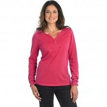 Women's First Forks Split Neck Shirt by Woolrich