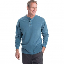 Men's Bannock Sueded Jersey Henley Shirt