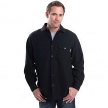 Men's Bering Wool Solid Shirt by Woolrich