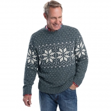 Men's Ironstone Rollneck Fairisle Sweater