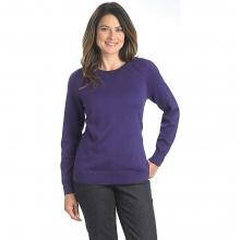 Women's Plum Run Open Neck Crew Sweater by Woolrich