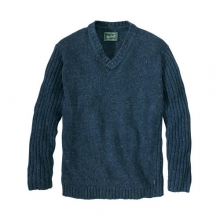 Mens Ironstone V-Neck Sweater by Woolrich