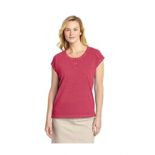 Women's First Forks Cap Sleeve Top by Woolrich