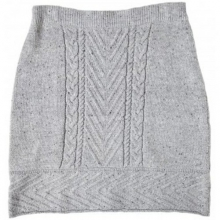Women's Shannon Cable Sweater Skirt