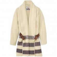 Women's Suffolk Stripe Blanket Bridle Coat by Woolrich