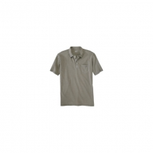 Mens First Forks 1-Pocket Polo - Sale Shale Large by Woolrich