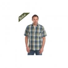 Mens Midway Yarn-Dye Shirt - Sale Deep Indigo Medium by Woolrich