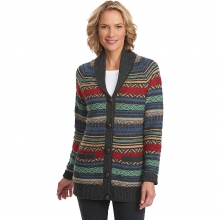 Women's Blazing Star Long Fair Isle Cardigan by Woolrich