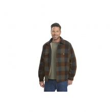 Mens Charley Brown Jacket - Closeout Trail Brown Medium by Woolrich