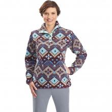 Women's Trail Blazing Printed Fleece Pullover by Woolrich