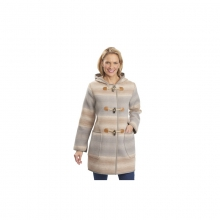 Womens Richville Wool Duffle Coat - Closeout Canyon Heather by Woolrich