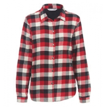 Pemberton Fleece-Lined Flannel Shirt Jac - Women's by Woolrich