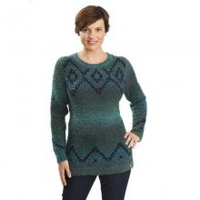 Women's Roundtrip Fair Isle Crew Sweater in Peninsula, OH