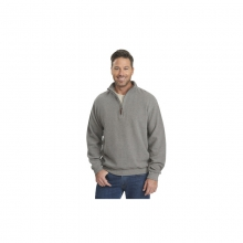 Mens Bromley Half Zip Pullover - Closeout Steel Gray Heather in Peninsula, OH