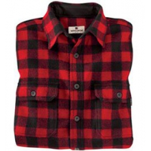 Wool Buffalo Shirt - Men's - Red/Black In Size in State College, PA