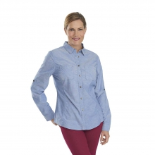 Women's Conundrum Solid Convertible Shirt by Woolrich
