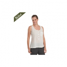Womens Spring Fever Tank Silver Gray Medium by Woolrich