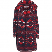 Women's Dew Berry Hooded Fairisle II Cardigan by Woolrich