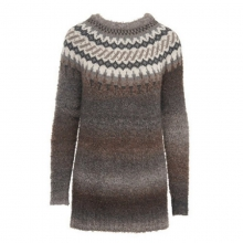 Women's Roundtrip II Fair Isle Crew Tunic Sweater by Woolrich