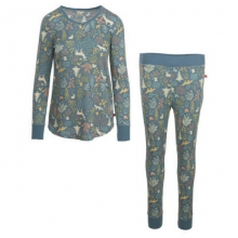 Women's Huckleberry II Thermal Pajama Set by Woolrich