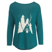 Women's Two Tone Motif Sweater by Woolrich