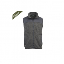 Mens Grindstone Sweater Fleece Zip Up Vest - Sale Matte Gray Heather by Woolrich