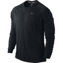 Nike Dri-Fit Miler Long Sleeve Shirt - Men's-S