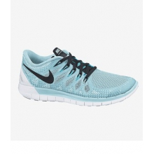 Free 5.0 - Women's-Distance Blue/Reflective Silver-6