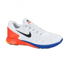 Lunarglide +6 -  Men's-White-13