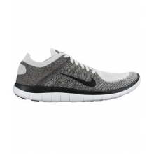 Free 4.0 Flyknit - Men's-Stealth/Pure Platinum-9