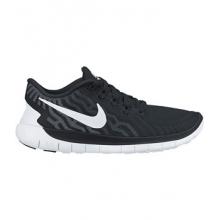 Free 5.0 Running Shoe - Women's-Black/Black-6