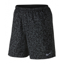 Mega Pixel Distance Shorts - Men's-Black-L