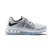 Air Max 2015 Running Shoe - Women's-White-8.5