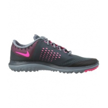 FS Lite Run 2 Shoes - Women's-Black/Pinkadelic-6
