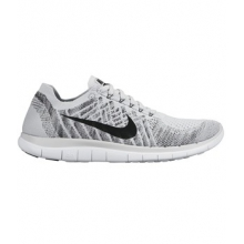 Free 4.0 Flyknit Running Shoe - Men's-White-11.5