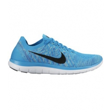 Free 4.0 Flyknit Running Shoe - Women's-Royal-10