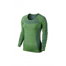 W Dri-Fit Knit LS - 718582-455 by Nike