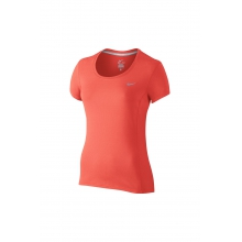 W Dri-Fit Contour SS - 644694-680 L by Nike