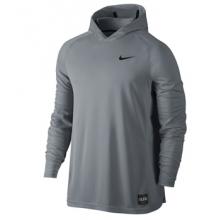 Nike LS Hoodie - Men's-Grey-M