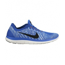 Free 4.0 Flyknit Shoe - Women's-Galaxy/Midnight-8.5
